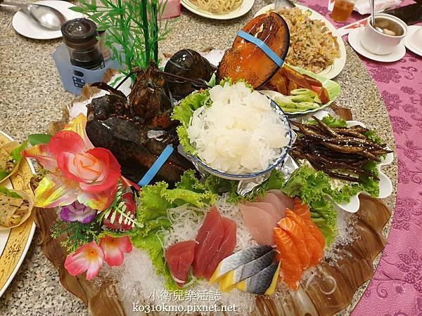 台中台61線美食.梧棲來來海鮮餐廳.