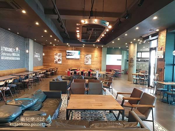 春川九峰山A TWOSOME PLACE天空步道咖啡廳