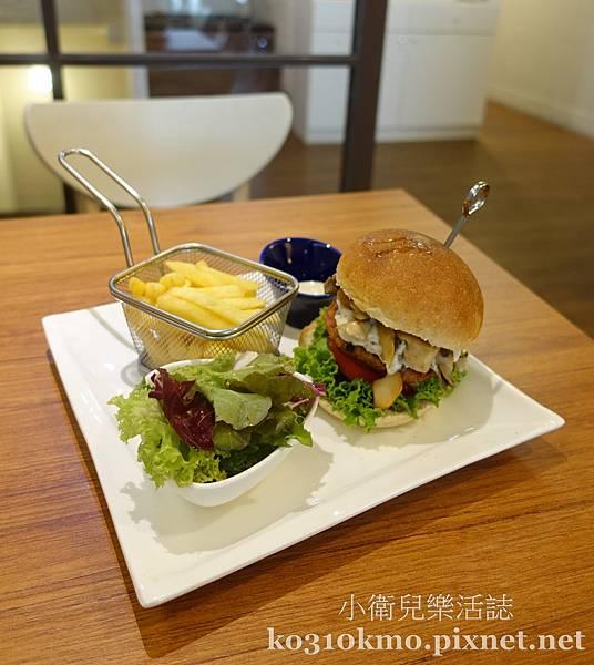 台中漢堡推薦.VegFarm無國界蔬食餐廳