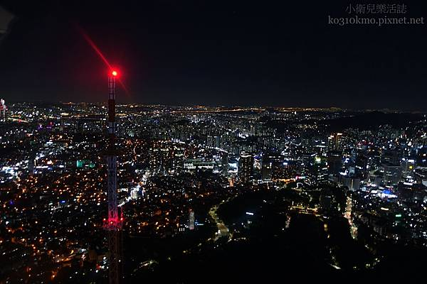 韓國首爾必去景點.南山首爾塔N Seoul Tower