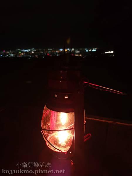 台東絕美夜景.星星部落景觀咖啡