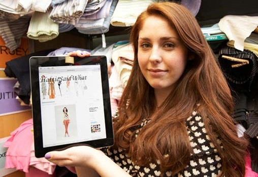 Hollings Faculty - Student wins first prize for fashion writing.jpg