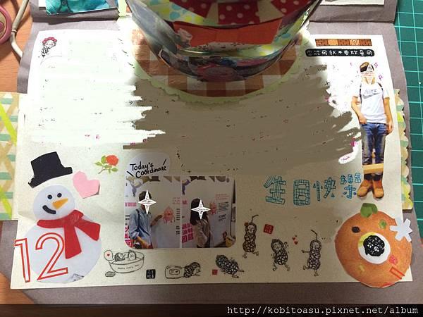 生日蛋糕卡片