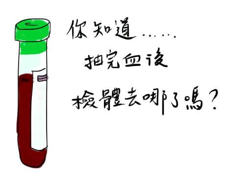 biochem 你知道檢體去哪了嗎