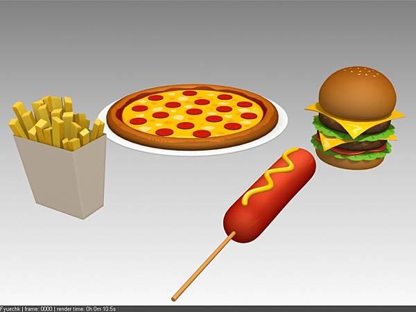 公司內部案子物件_餐盤+食物_美式料理