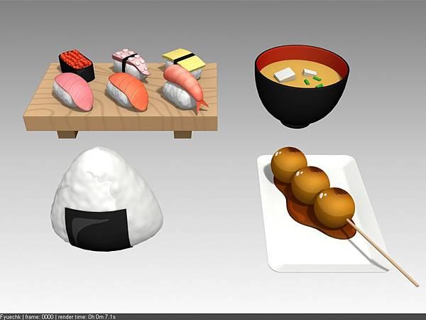 公司內部案子物件_餐盤+食物_日式料理