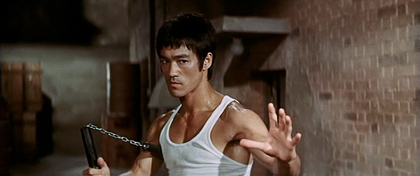 Bruce Lee nunchucks Way of the Dragon