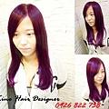 秋冬紫紅色