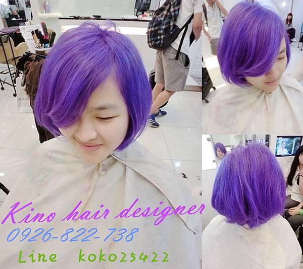 紫羅蘭 紫藍迷幻色系