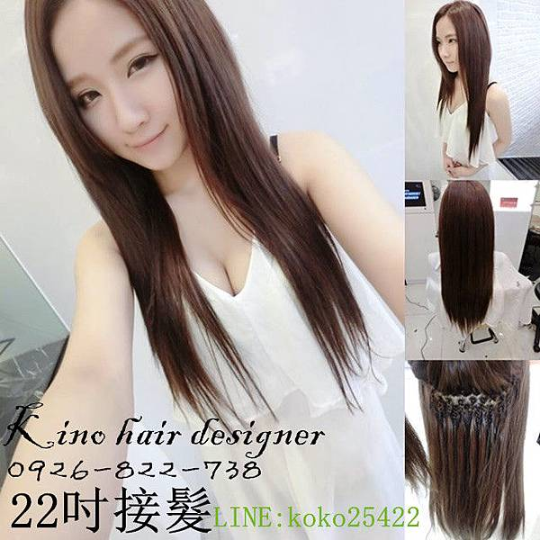 22吋接髮可可色 NINA.jpg