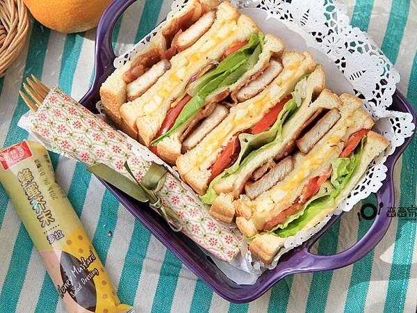 歌林-野餐必備三明治