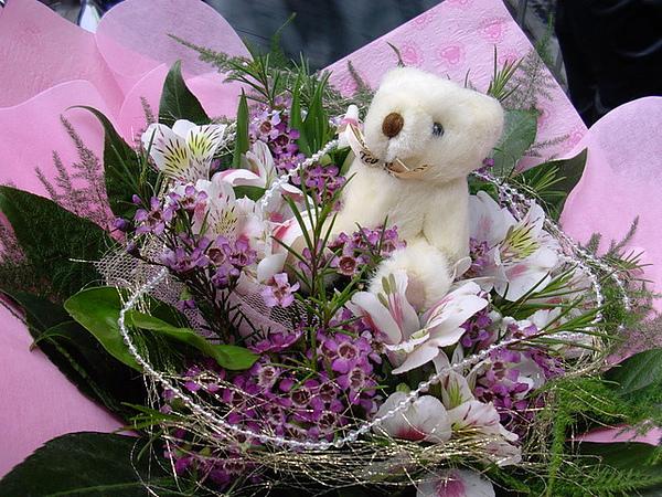 美麗的獻花