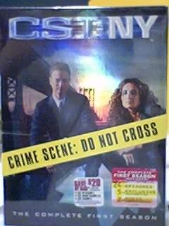 CSI: NY, S1 DVD, 封面
