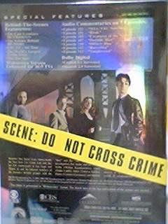 CSI: NY, S1 DVD, 封底