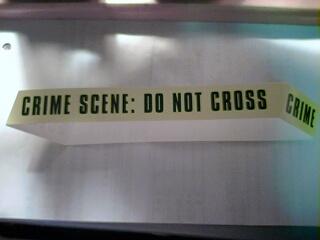 犯罪現場,請勿跨越!