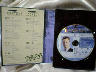DVD 打開的樣子