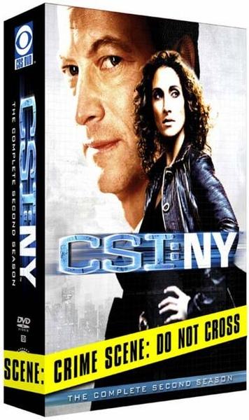 CSI: NY S2 DVD BOX