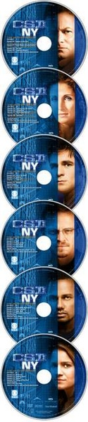 CSI: NY 第二季 DVD disc