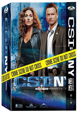 三區 CSI: NY 第二季 DVD 封面