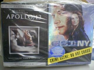 寄來的 DVD 打包的很好