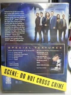 CSI: NY 第二季 背面照