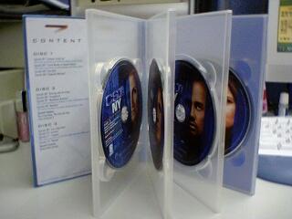 CSI: NY 第二季 DVD 碟片