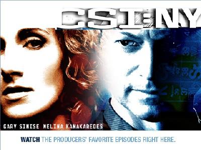 CSI: NY 第二季宣傳用