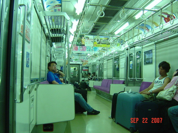京城線車內