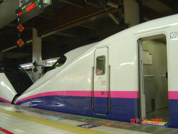 新幹線火車