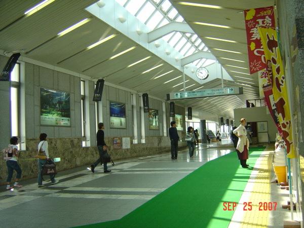 輕井澤火車站