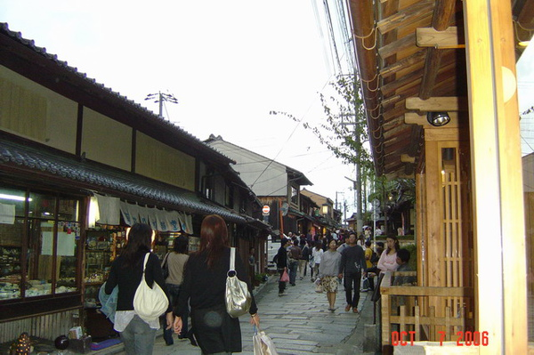 古意的京都街道