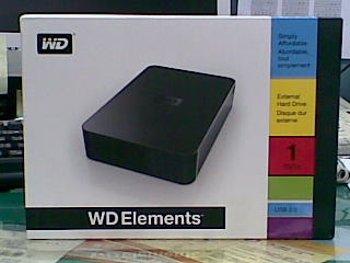 WD Elements Desktop 1TB 3.5 吋外接硬碟組