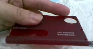 VICTORINOX 維氏透明13用名片型瑞士燈刀