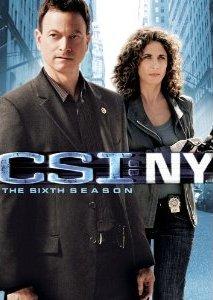 CSI: NY 第六季美版一區 DVD 封面