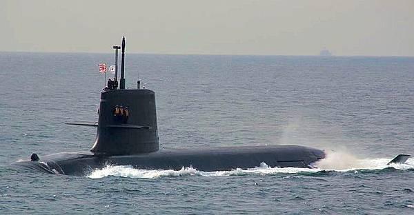 日本蒼龍潛艦