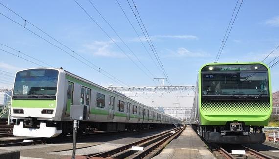 E235系與E231系