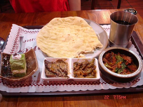 20090522-0607竹北雅瑄印度-羊肉咖哩套餐
