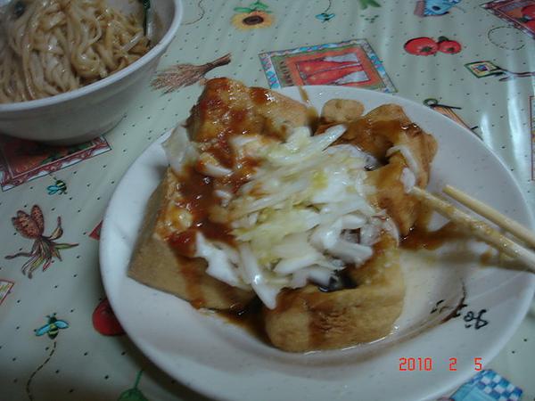 2010年3月旅遊美食苑裡臭豆腐008