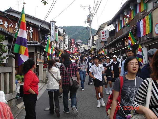 清水寺前的街景