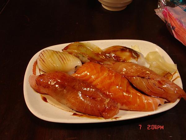 20090522-0607台北三味食堂-綜合握壽司