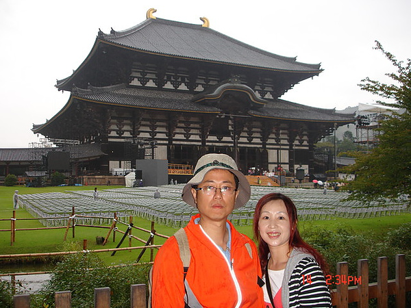 奈良的東大寺