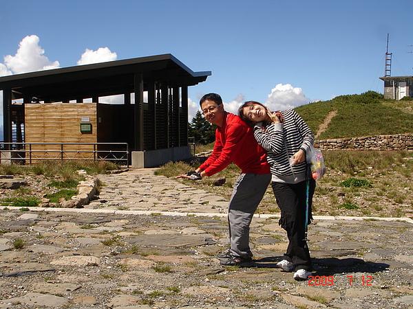 全國最高的公廁-合歡山主峰