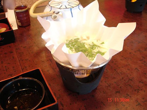 嵐山風味餐-紙火鍋