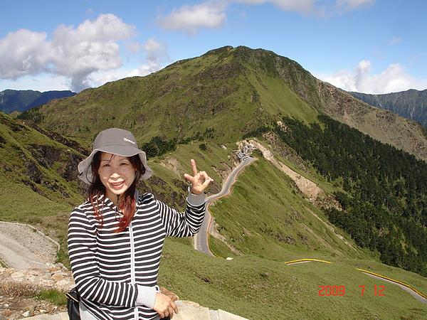 合歡東峰下的武嶺