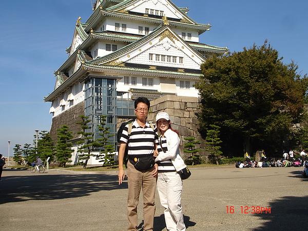 雄偉的大阪城