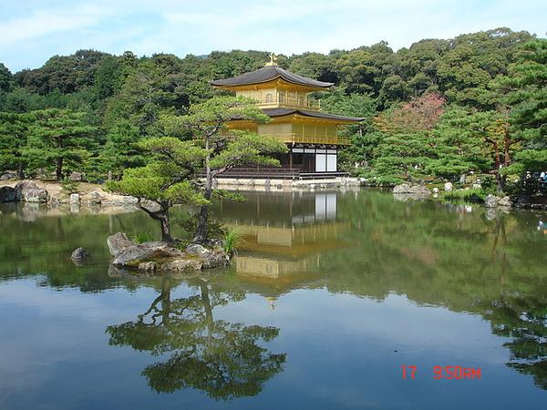 美麗的金閣寺