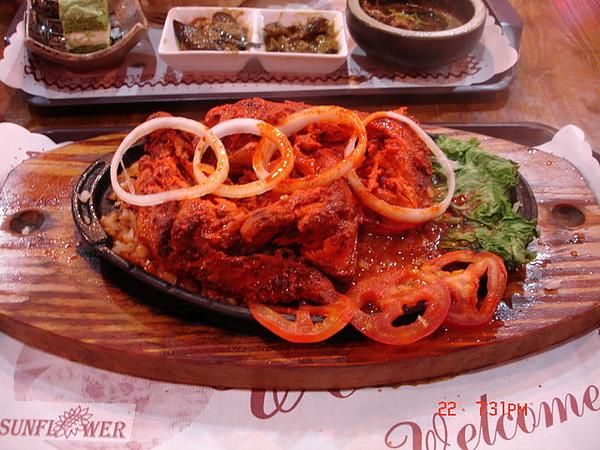 20090522-0607竹北雅瑄印度-坦都里烤雞