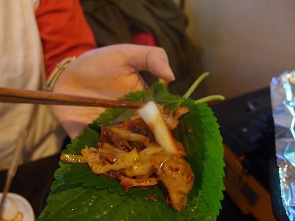 弘大 烤豬腸