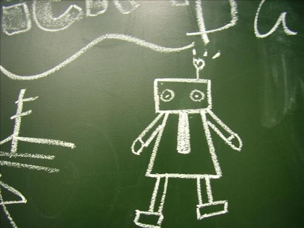 我在明日博物館留下的機器人B