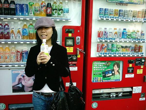 不知道為什麼日本的販賣機感覺特別日本味
